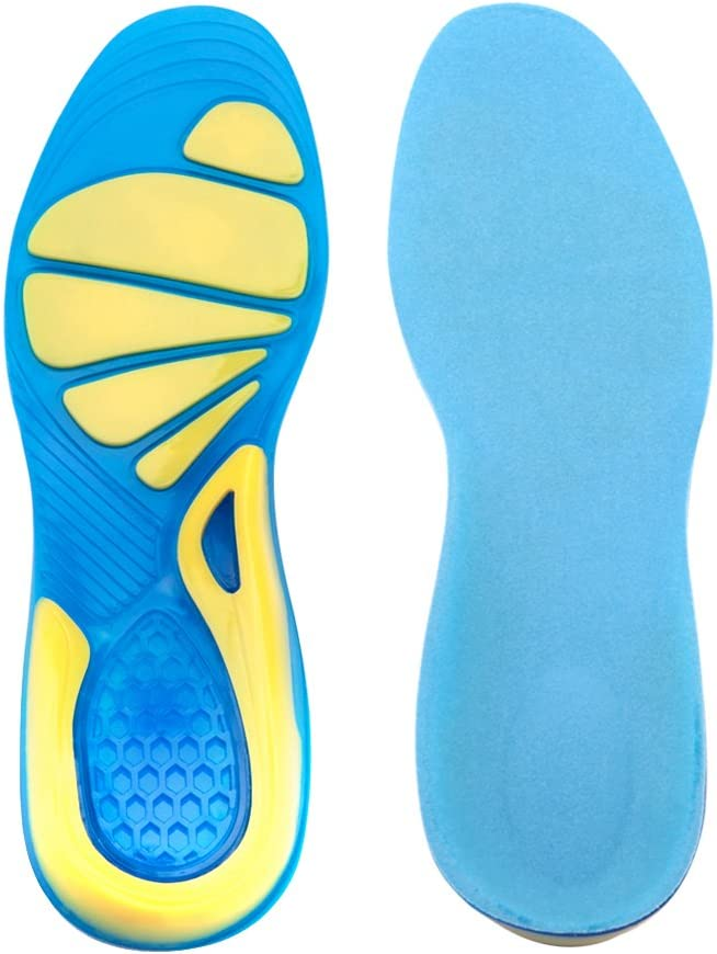 gel sole trainers