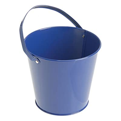 U.S. Toy Metal Bucket (Blue) Party Accessory: Toys & Games