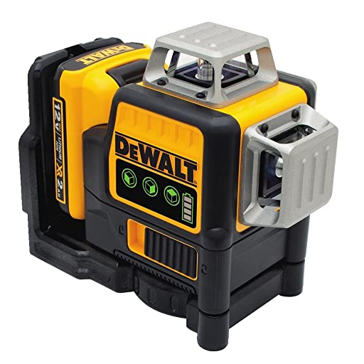 DEWALT DW089LG 3 x 360 Line Laser, Green