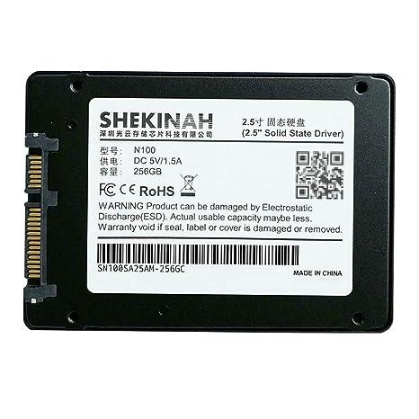 perfk Disco SSD Digital SATA III de 256g Unidad de Estado Sólido MlC con Estuche para