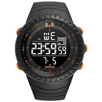 Blisfille Relojes Mujer Inteligente Relojes Elegantes Hombre Reloj Hombre 40Mm Relojes Digitales Smart Relojes Acero Inoxidable: Amazon.es: Deportes y aire ...