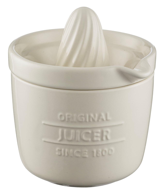 Mason Cash Citrus Juicer & Storage Pot - Ceramic - Cream