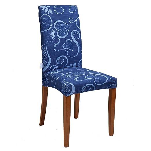 79 opinioni per Joker Coprisedia vesti sedia millerighe elasticizzato 2 pezzi linea Cuori L671
