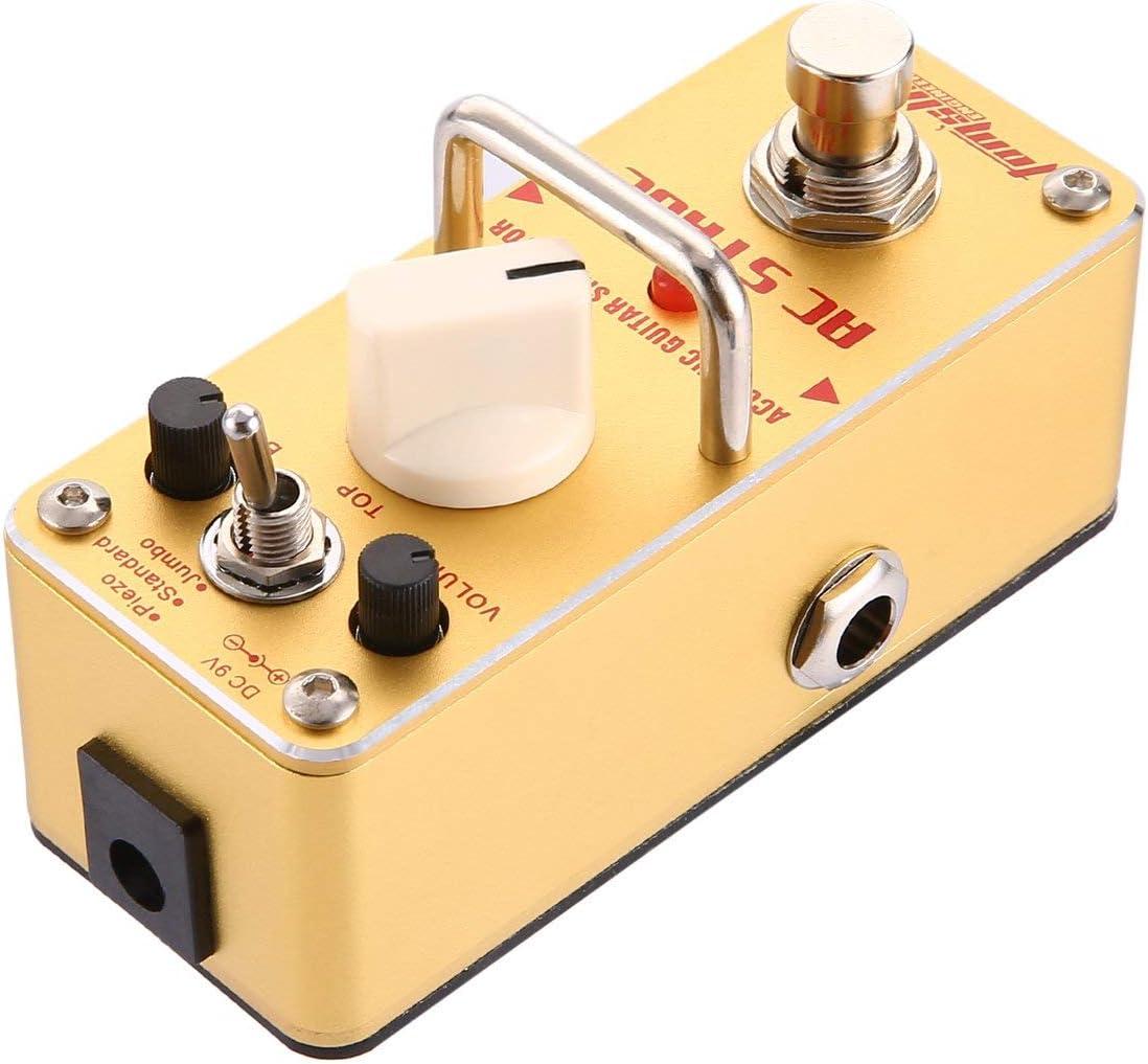 WOSOSYEYO Aroma AAS-3 AC Stage Pedal de Efecto de Guitarra ...