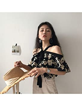 LKJI Camiseta De Mujer Vestido De Primavera para Mujer con Corbata ...