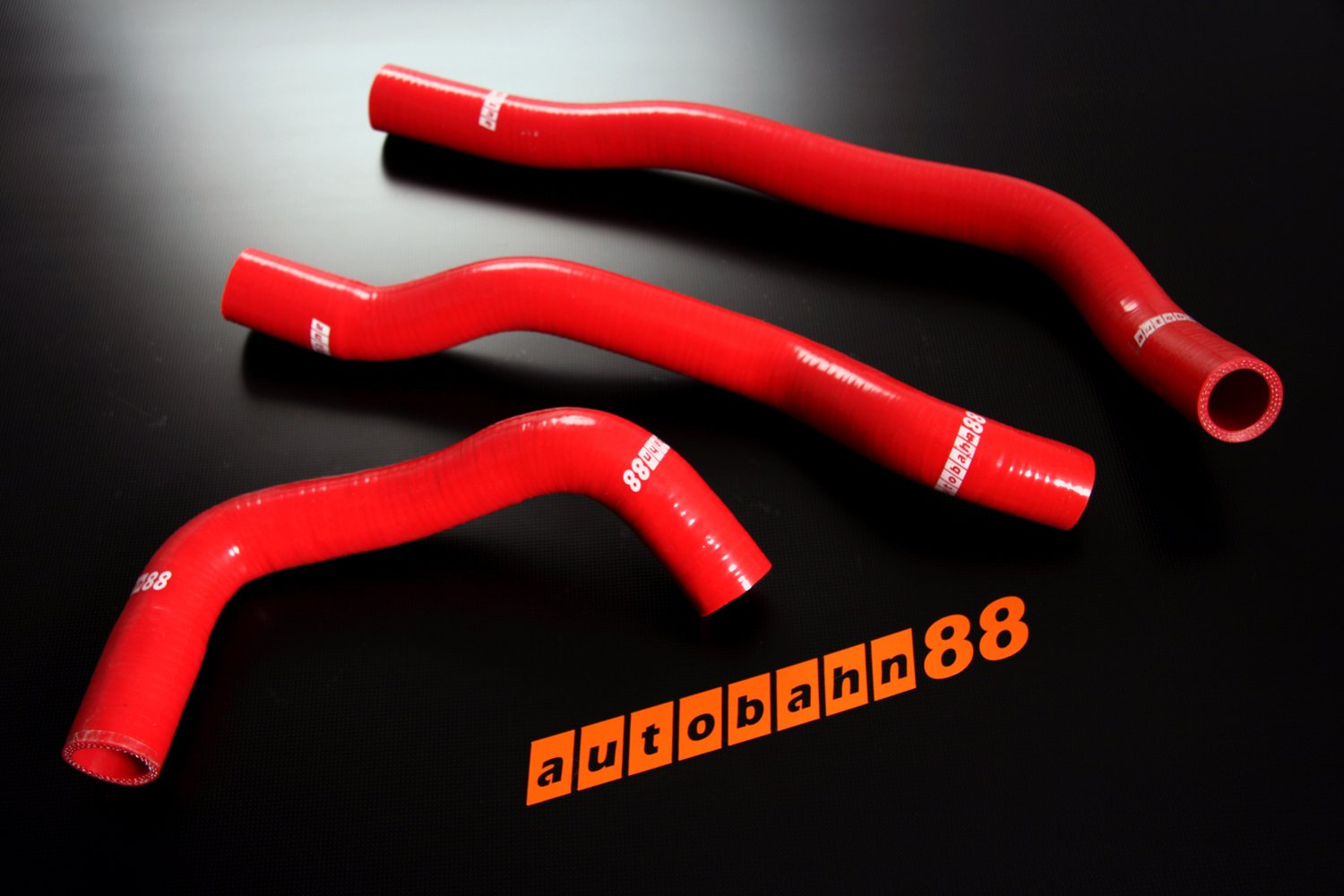 Autobahn88 Radiator Coolant Silicone Hose Kit for 1991-2002 Mazda RX7 FD3S 13B-REW Blue -without Clamp Set