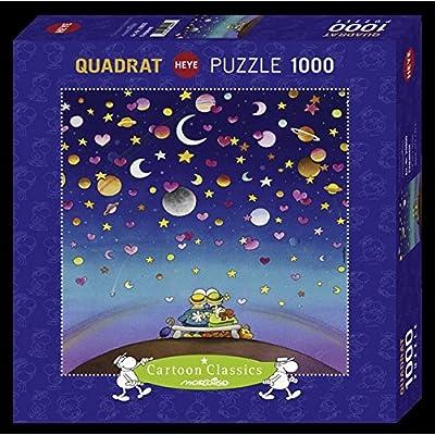 Heye Qpz1000 Mordillo Firmament Puzzle A Quadrato 29800