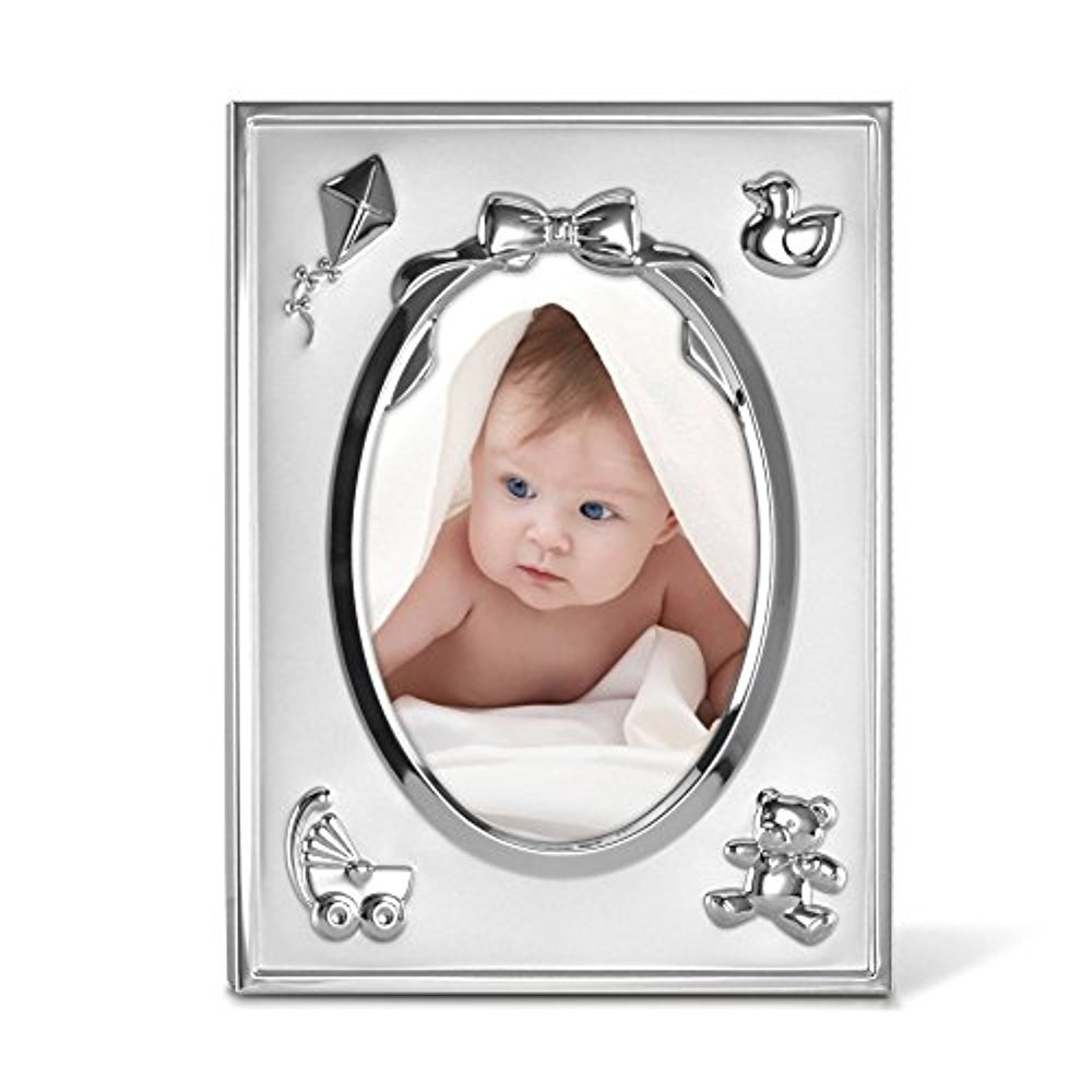 Lenox 867567 Childhood Memories 5X7 Metal Oval Frame