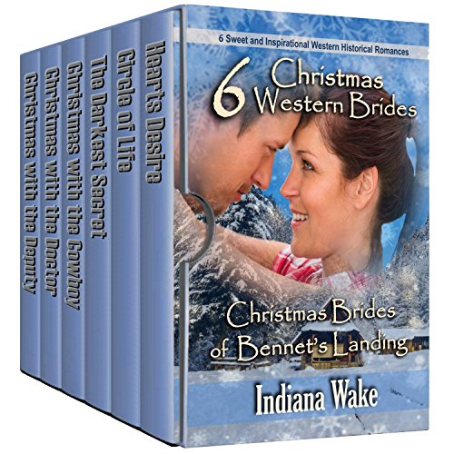 6 Christmas Western Brides: Christmas Brides of Bennett's Landing cover
