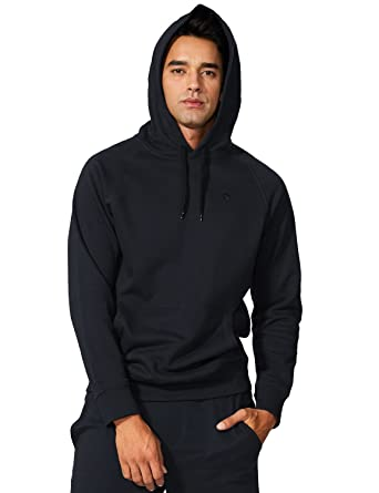 558299fb352 Amazon.com  Baleaf Men s Cotton Hoodies Pullover Workout Hooded ...