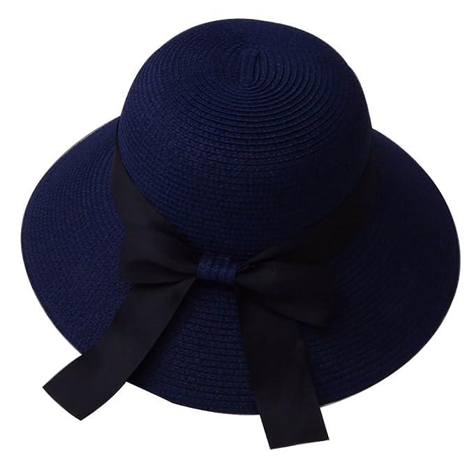 Emorias 1 Pcs Sombrero para el Sol Mujer Playa Protector Solar ...