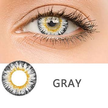Qenci Farbige Kontaktlinsen Rosa Grau Grun Braun Blau Schwarz