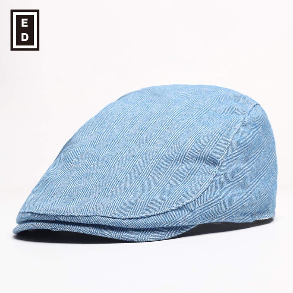 sdssup Sombrero de Verano Gorra Masculina Boina Femenina Azul ...
