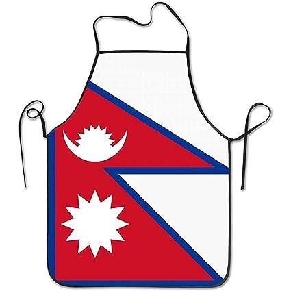 Amazon.com: Staroden Flag Map Of Nepal Durable Washable Adjustable ...