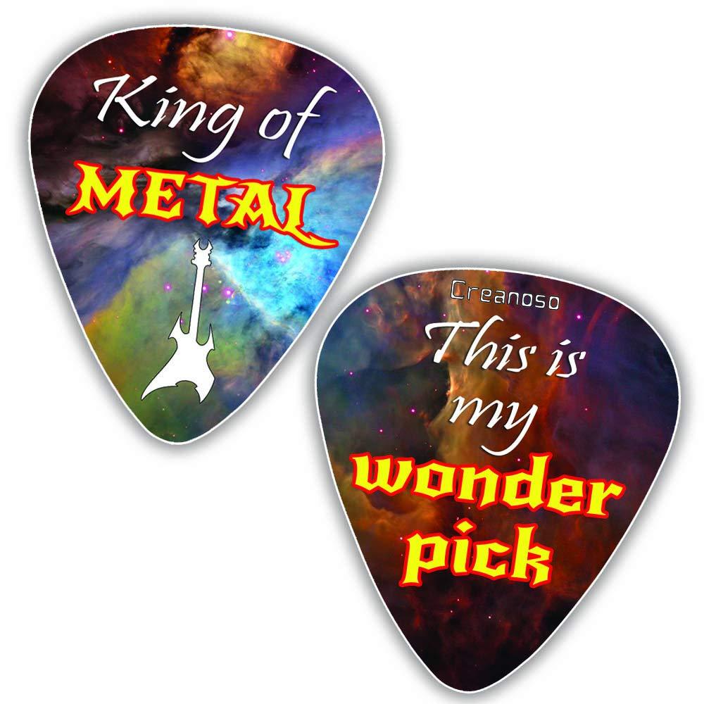 12-Pack - Premium Music Gifts /& Guitar Accessories for Husband Dad Boys Son Men Him Boyfriend Musician Gift Medium Gauge Celluloid Best Dad Gifts Creanoso Vintage Guitar Picks