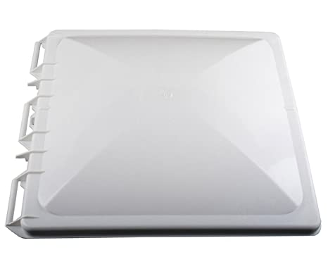 Roof Vent Covers >> Wadoy Rv Camper Vent Cover Lid Fits For 14 X 14 Jensen Metal Roof Vents White