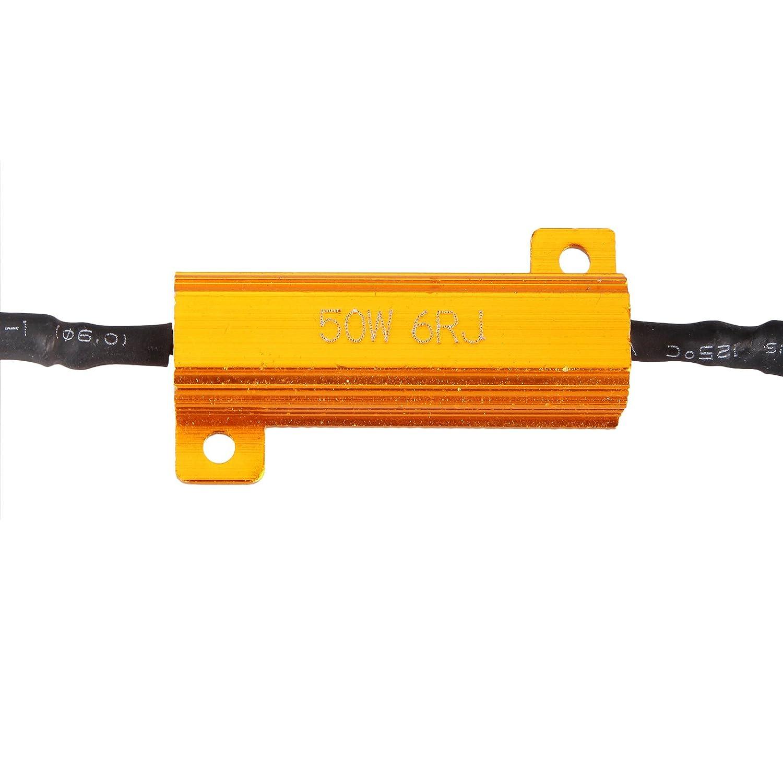 2x H11 Led Drl Fog Light 50w Load Resistor Error Free Installing Wiring Harness In A Bmw Decoder Cancel Automotive