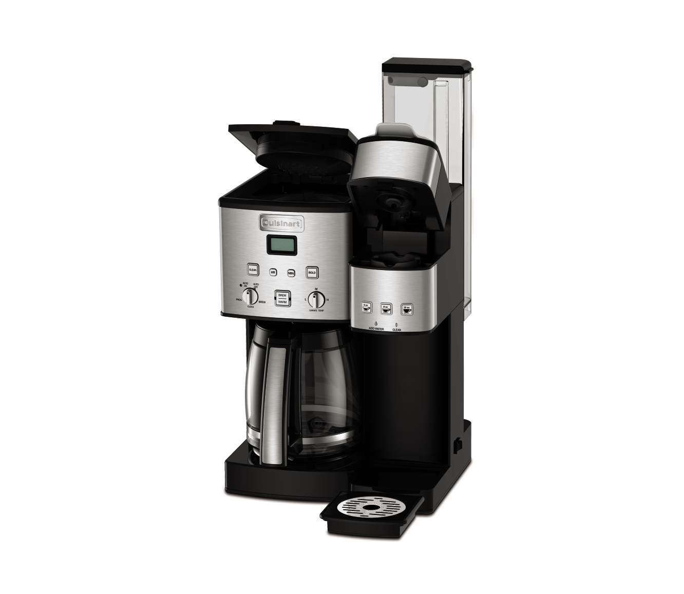 Cuisinart SS-15 12-Cup Coffee Maker and Single-Serve Brewer, Stainless Steel by Cuisinart (Image #3)