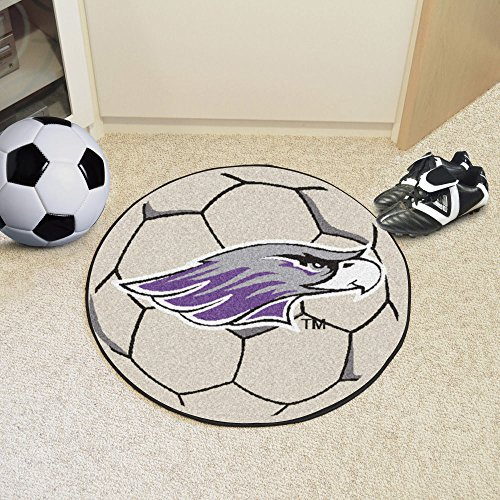 Fanmats Home Indoor Sports Team Logo University Of Wisconsin-Whitewater Soccer Ball