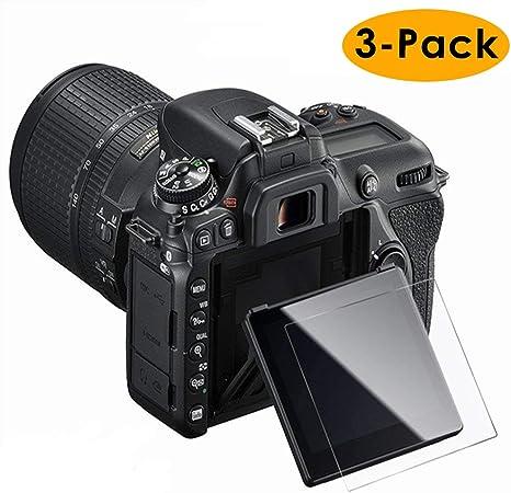 KIMILAR Compatible con Nikon D7500 Protector Pantalla, (3 Pack ...