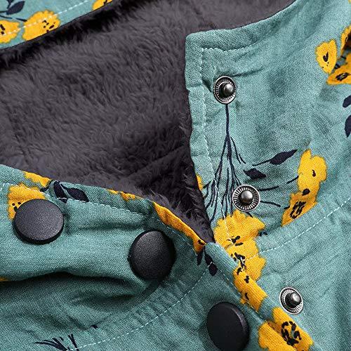 Chaqueta Con Mujer Impresión Outwear De Multi5 Suéter Abrigo Capucha Tallas Cardigan Jersey Logobeing Grandes Sudadera Bolsillos Caliente Floral Invierno t7wRxqS4