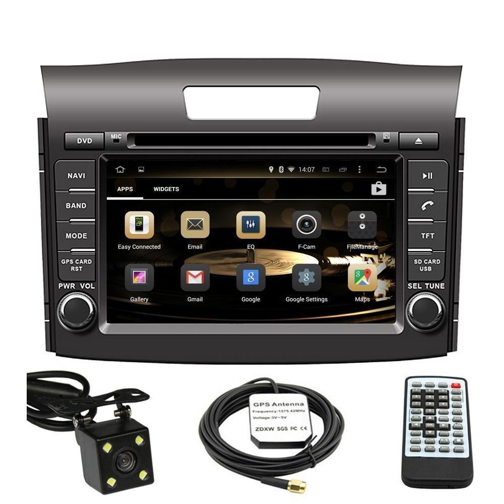 Amazon.com: 7 Inch Touchscreen Monitor Car GPS Navigation System for HONDA  CRV 2012 2013 2014 Car Stereo DVD Player +Free Backup Rear View Camera+Free  US ...