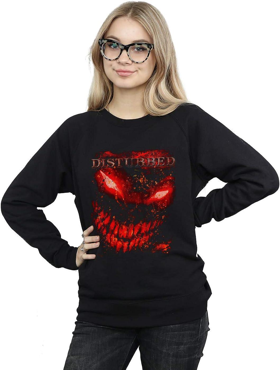 ABSOLUTECULT Disturbed Girls Stacked Evolution Sweatshirt
