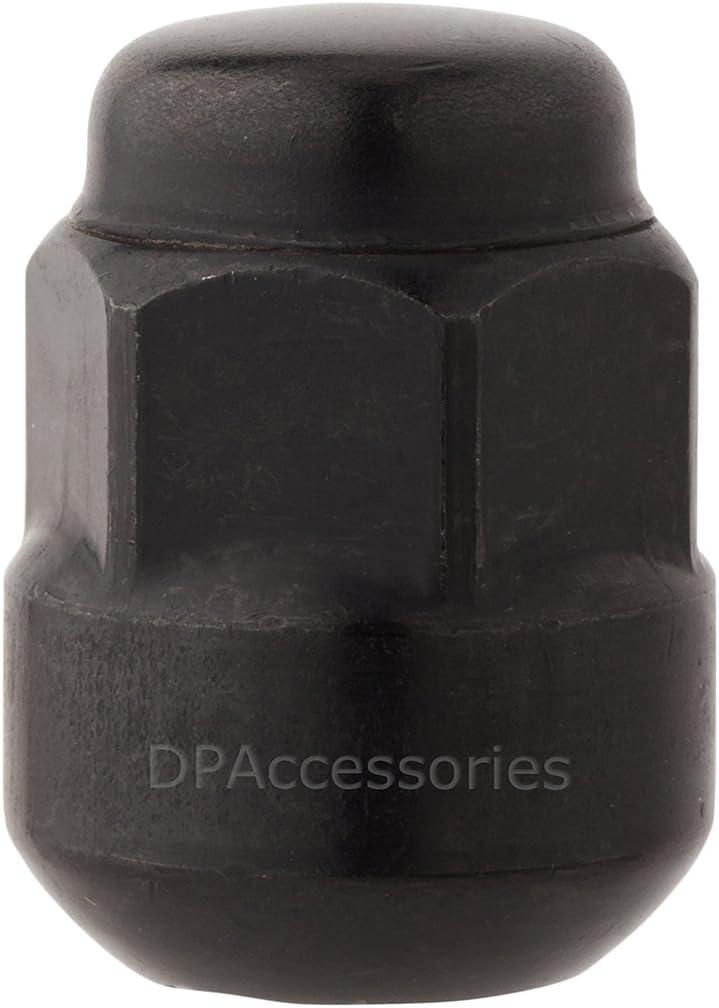 DPAccessories LCR2B6HEOBK04020 20 x Black Factory Style Lug Nuts for Honda Acura Aluminum Wheels 90381S4L003 Wheel Lug Nut