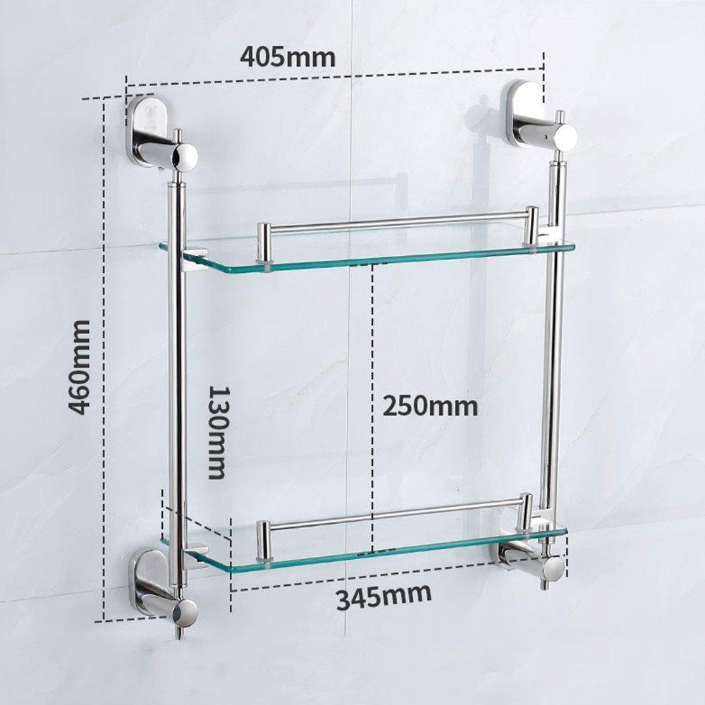 304 De Lhbox Vidrio Estantes Tap Baño Toallas Y2IWDEH9