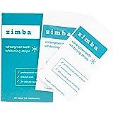 Zimba Teeth Whitening Strips - Zimba Whitening Strips - Teeth Whitening Formulated for Sensitive Teeth - White Strips Teeth W