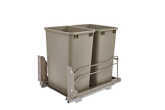 Amazon.com: Cubos de basura Rev-A-Shelf - 53WC-1835SCDM-212 ...