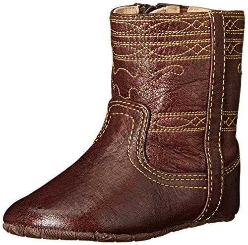 FRYE Campus Stitching Horse Crib Shoe (Infant/Toddler), Walnut, 2 M US Infant (Shoe Campus Leather 2)