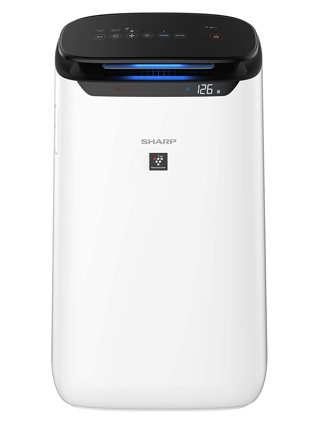 Sharp FP-J60M-W Air Purifier With Digital PM2.5 Real-Time Display ...