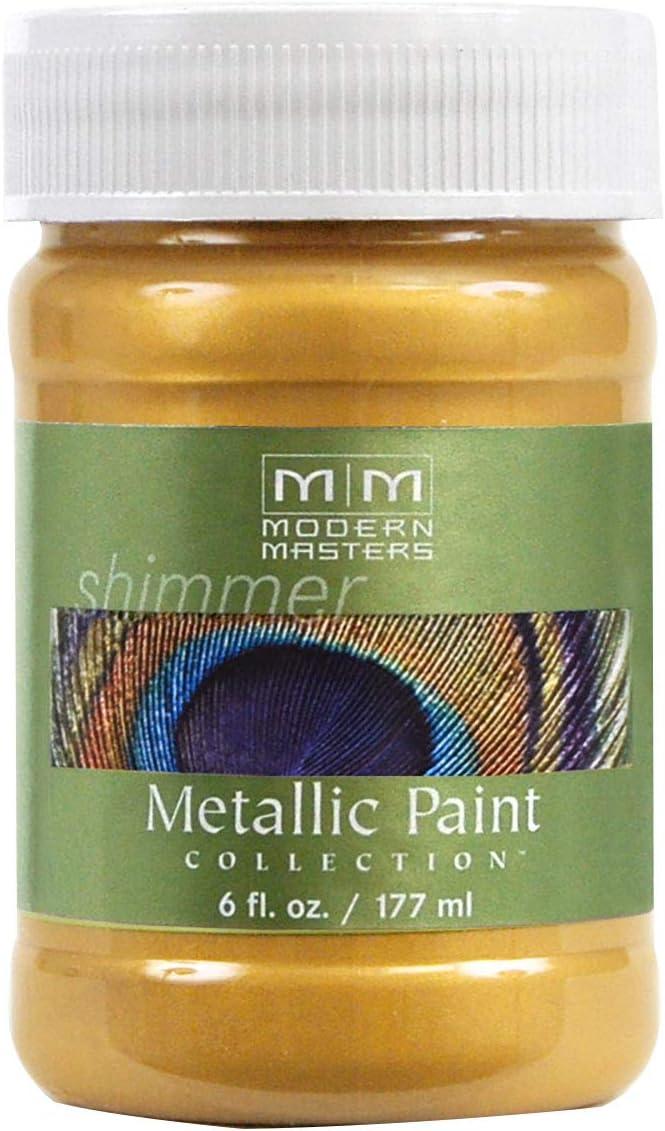 Modern Masters ME658-06 Metallic Gold Rush, 6-Ounce