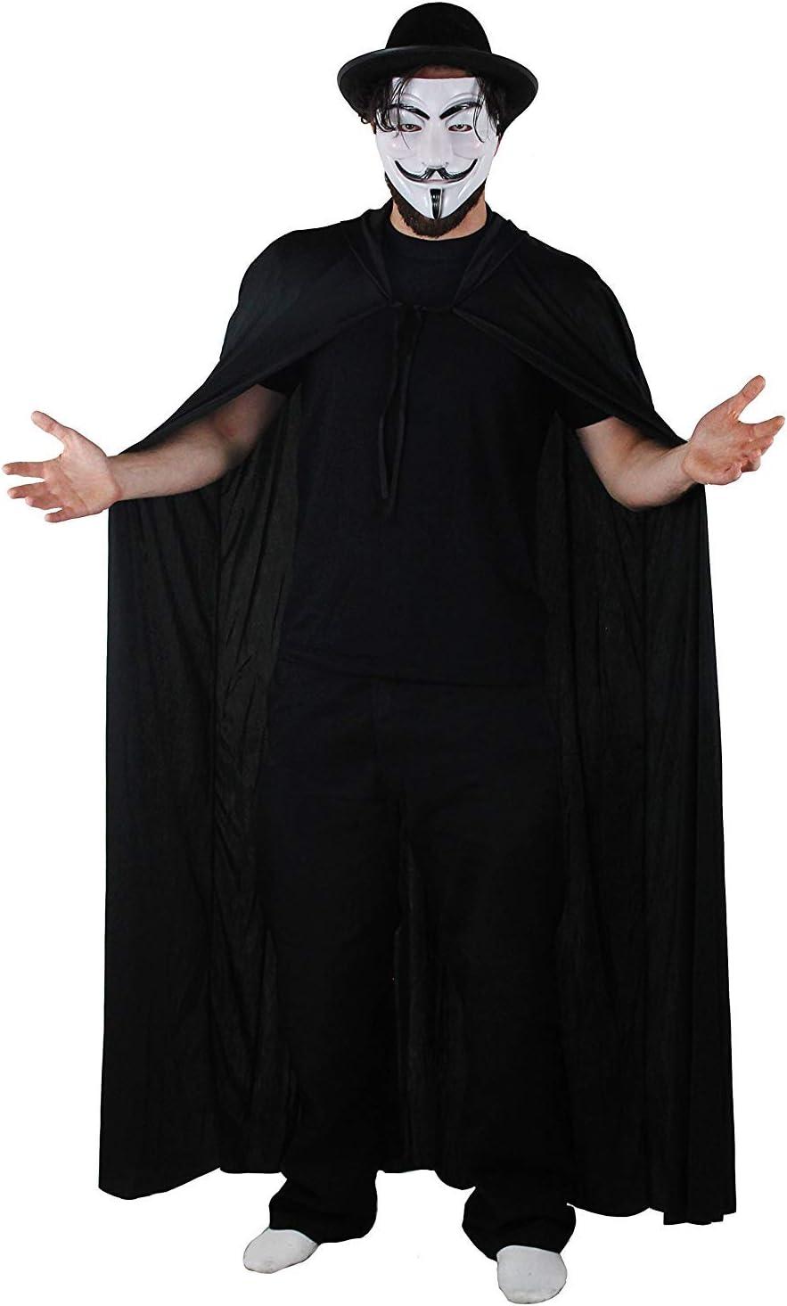 I LOVE FANCY DRESS LTD Hombre ANÓNIMO Disfraz DE Halloween Hombre ...