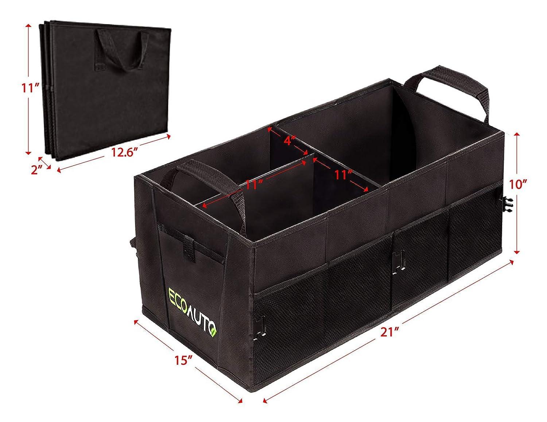 Foldable Car Back Folding Storage Box Multi-Use Travel Auto Organizer Supplies