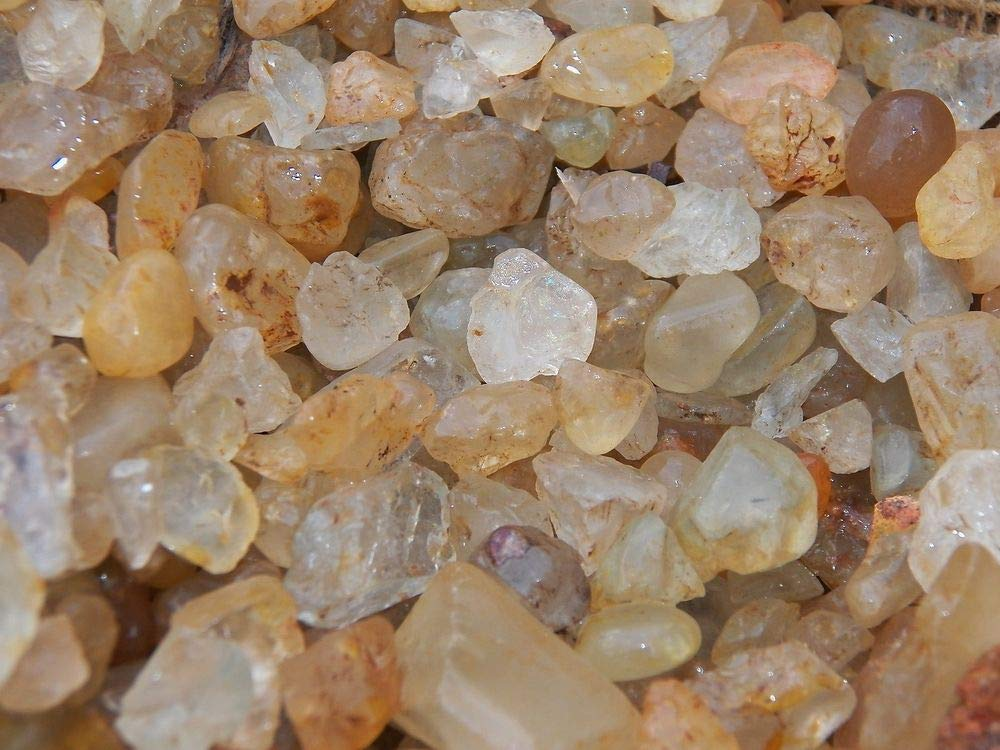 1000 Carat Lots of Unsearched Topaz Rough Plus a FREE Faceted Gemstone
