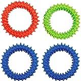 Sensory Ring Fidget Toys(4パック)、ストレス解消おもちゃ、感覚玩具、ADHD ADD OCD自閉症、うつ病および不安障害の治療に役立ちました。 BPA/ラテックス/フタル酸エステルフリー