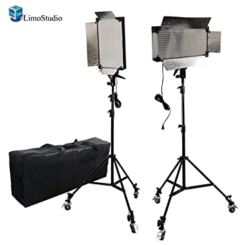 LimoStudio 2 Pcs Dimmable 500 LED Photography Photo Video Light Panel LED Lighting Kit with 6pcs  sc 1 st  Amazon.com & Amazon.com : LimoStudio 2 Pcs Dimmable 500 LED Photography Photo ... azcodes.com
