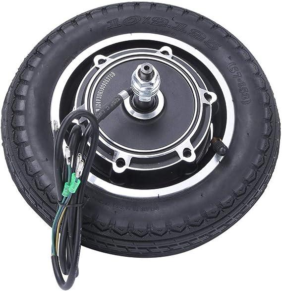 Langlebig 24//36//48V 350W 10Zoll Elektroroller E-Scooter Reifen Rad Hub Motor Rad