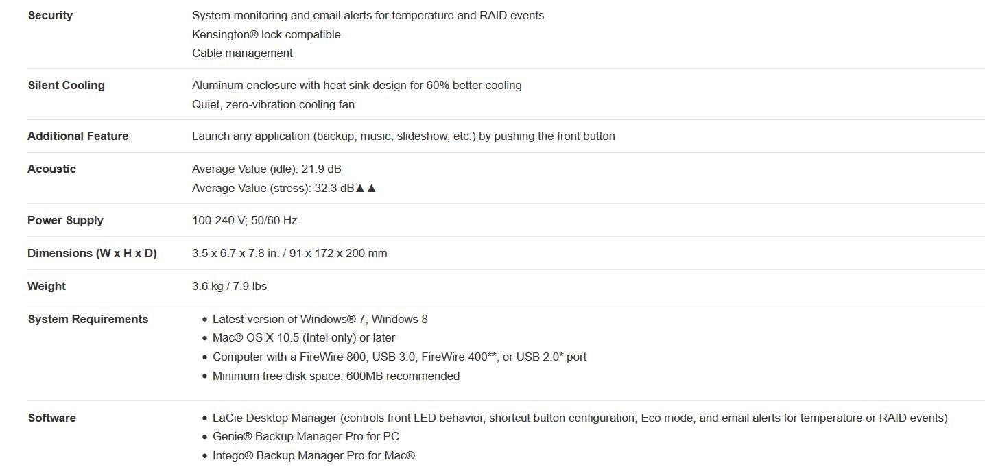 LaCie LAC9000317 2 Hot-Swap-fähige Festplatten mit: Amazon.de ...