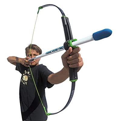 Marky Sparky Faux Bow Pro – Shoots Over 200 Feet – Bow and Patented Arrow Archery Set: Toys & Games