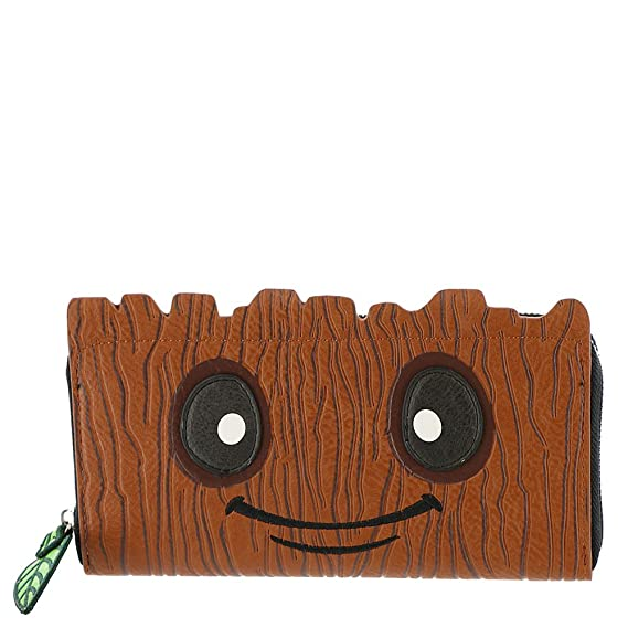beba1ea1a9d Loungefly X Marvel Guardians of the Galaxy Baby Groot Zip Around Wallet:  Amazon.co.uk: Clothing