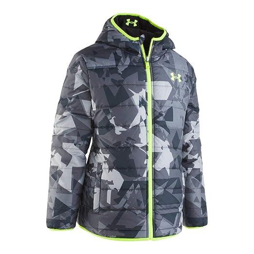 b82998fc Under Armour Boys' Print Reversible Pronto Puffer Jacket