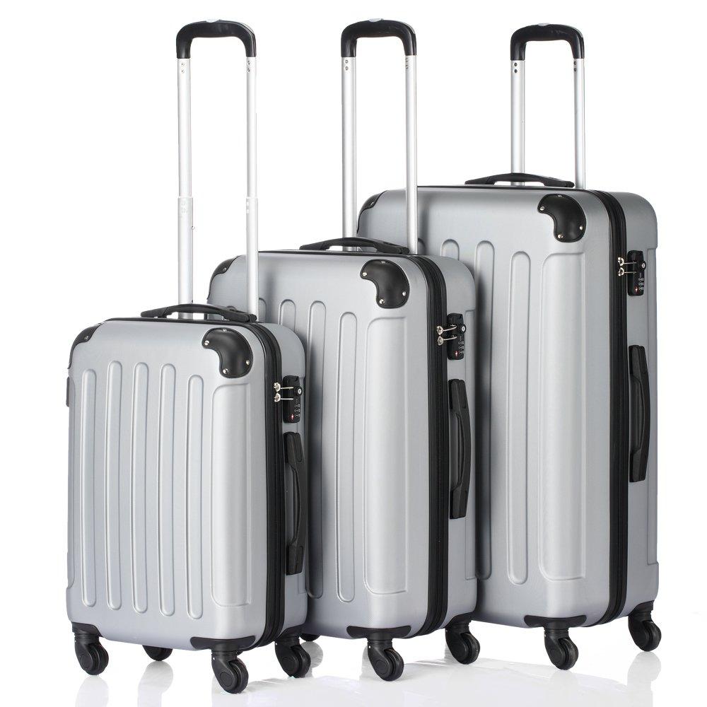 3-in-1 Multifunctional Large Capacity Traveling Storage Suitcase Trolley Case Grey