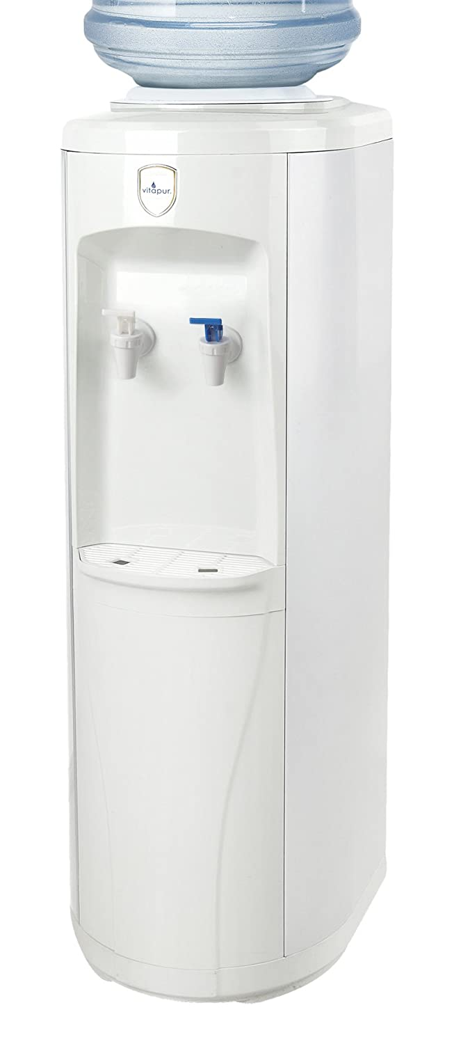 Vitapur VWD2236W Top Load Floor Standing Room Cold Standard Taps, White water dispenser, one size