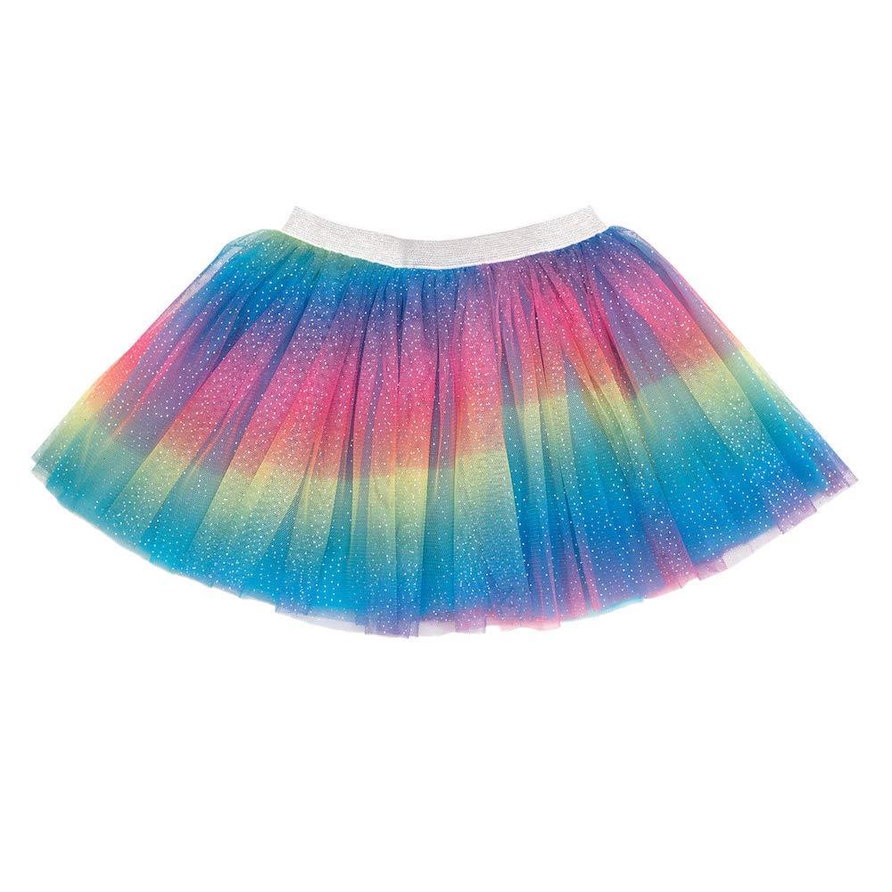 Sweet Wink Rainbow Dust Sparkle Tutu Skirt