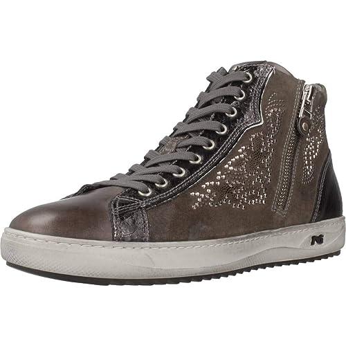 Nero Giardini Sneakers Scarpe Donna Grafite 6471 A806471D  Amazon.it   Scarpe e borse e09fe5e71f2