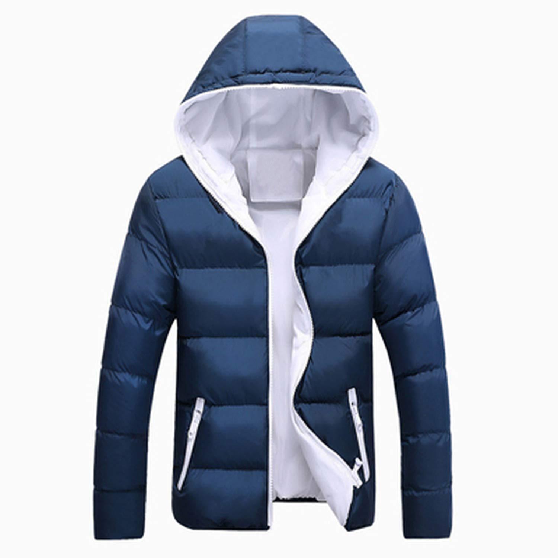 Love essentials Fashion coat Men Winter Jacket Hooded Thermal Down Cotton Parkas Male Casual Hoodies Windbreaker