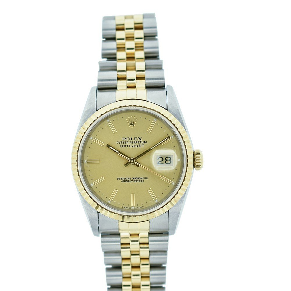 Rolex Datejust automatic-self-wind mens Watch 16233 (Certified Pre-owned)